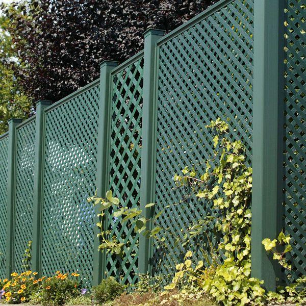 Sichtschutzwand Kunststoff Terrasse, Coventry Set 1