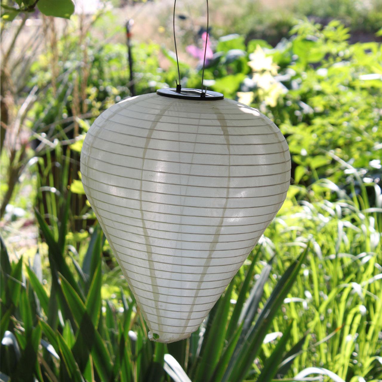 solar led-laterne, wetterfest, ballon, sandhell