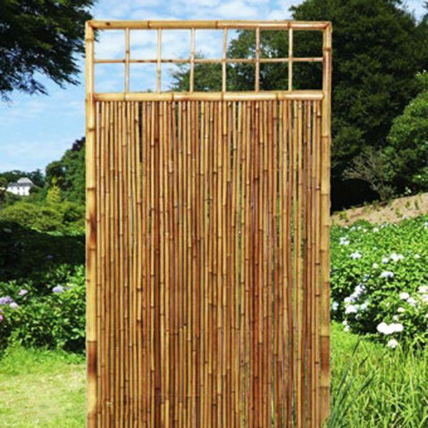 sichtschutzwand bambus zen zierleiste. Black Bedroom Furniture Sets. Home Design Ideas