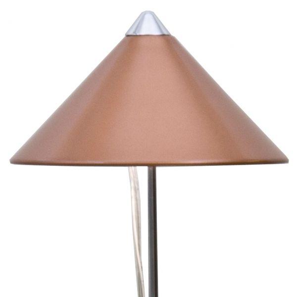 LED-Pflanzenlampe SUNLiTE 1m Teleskopstab, kupfer