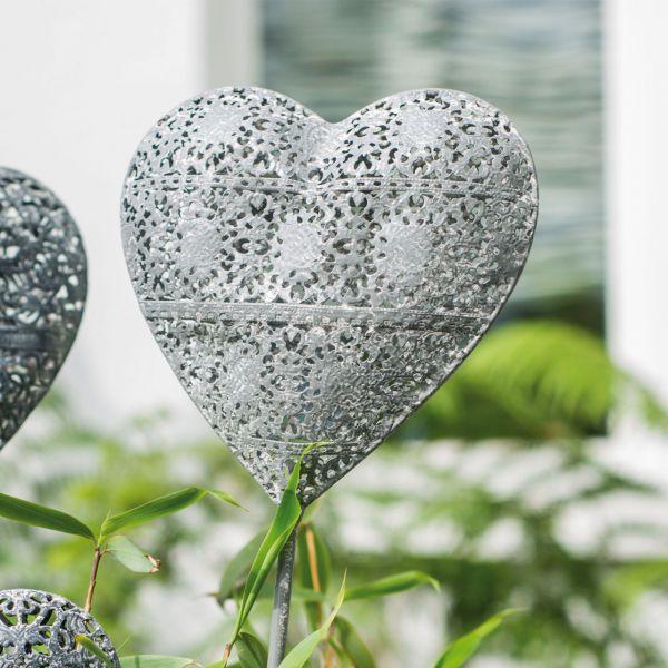 Gartenstecker Herz Hanna