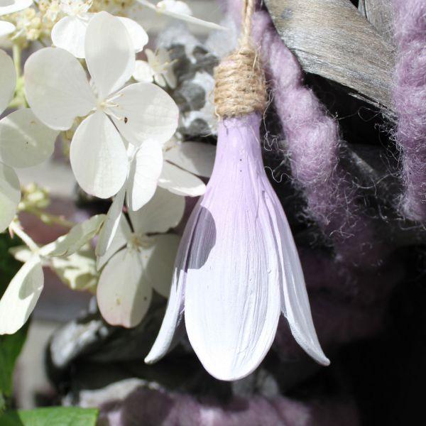 Deko-Anhänger Blüte Claire