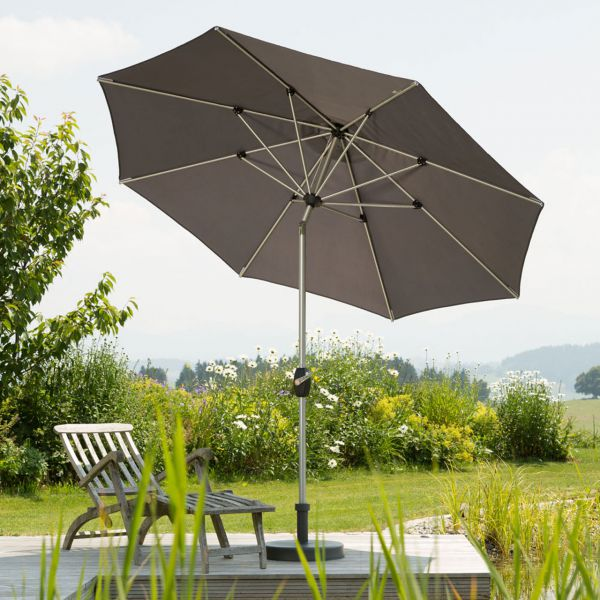 Kurbel-Sonnenschirm VENEDIG, rund Ø 270cm