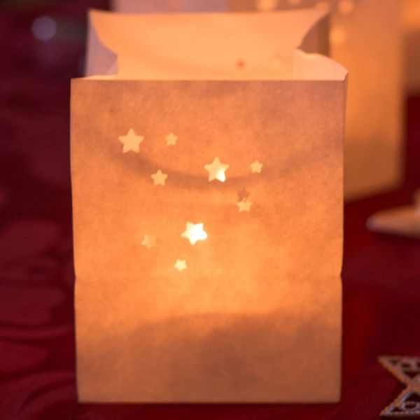 Lichtertüten Sternchen