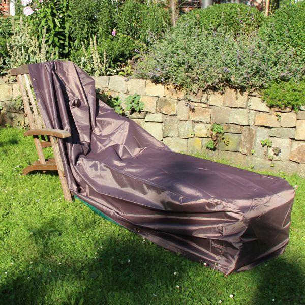 Gartenmöbel-Schutzhülle für Gartenliege, taupe