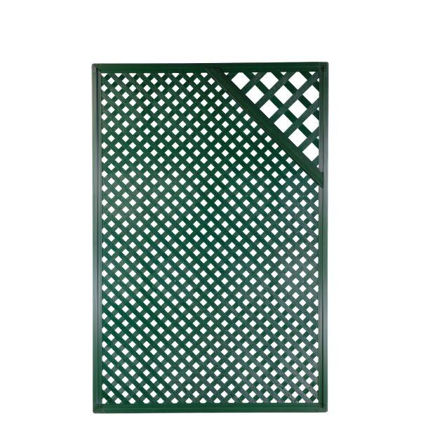 Sichtschutzwand Kunststoff Coventry, Diamant Zierecke