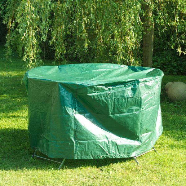 Schutzhaube PE runde Tischgruppe, grün