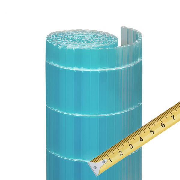 Sichtschutzmatte Kunststoff Meterware, Sunline azur