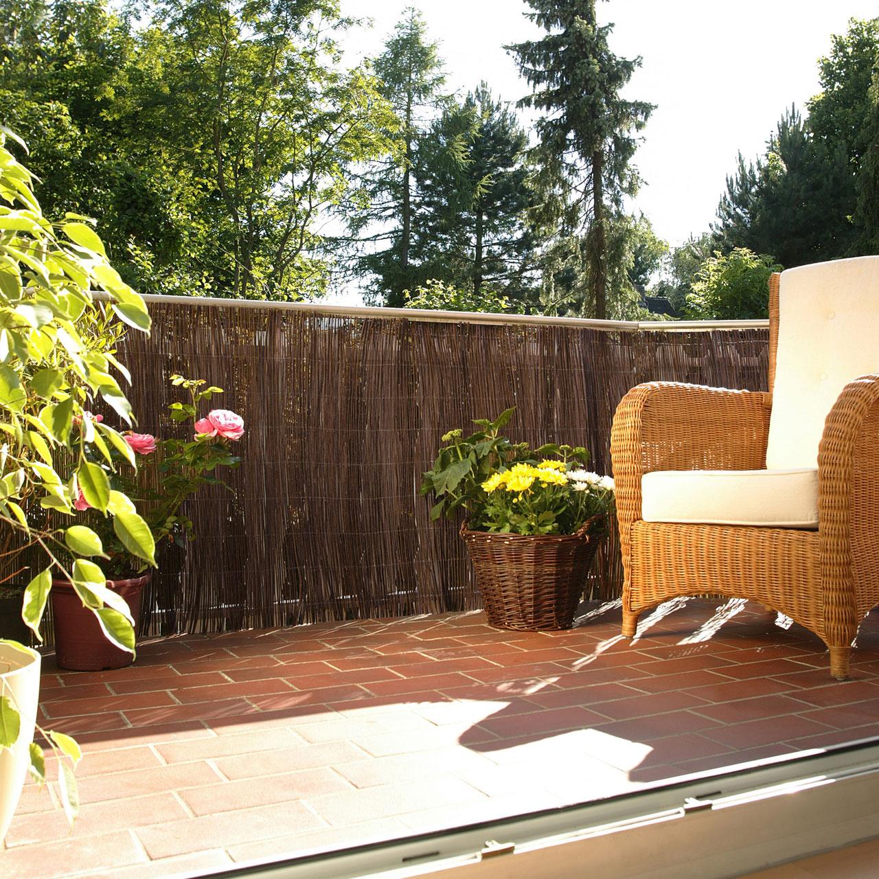 farnmatte balkonverkleidung husum natur. Black Bedroom Furniture Sets. Home Design Ideas