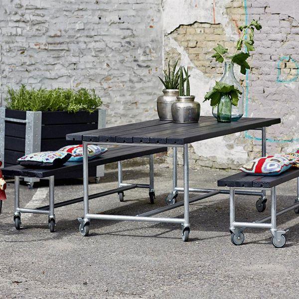 Mobiles Gartenmöbel Set Urban Picnic
