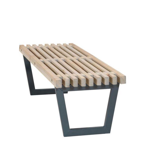 Bank / niedriger Tisch Outdoorlounge SIESTA, 138 cm