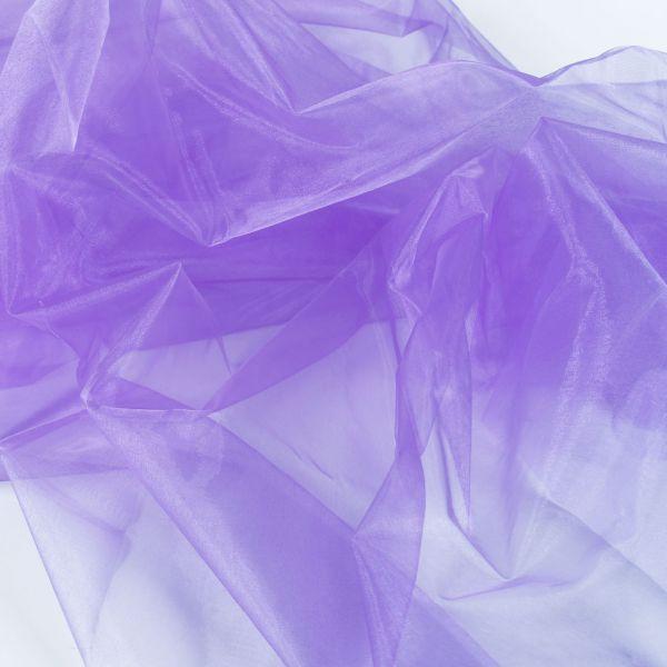 Dekostoff Organza, lila