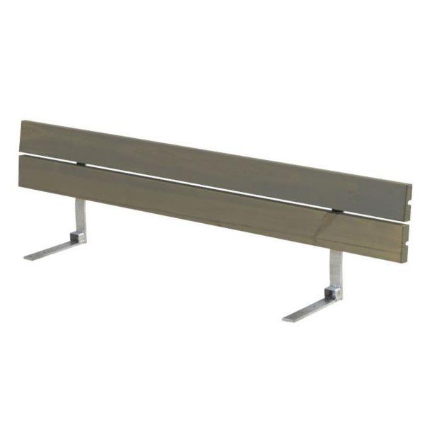 Lehne für Sitzbank Planken