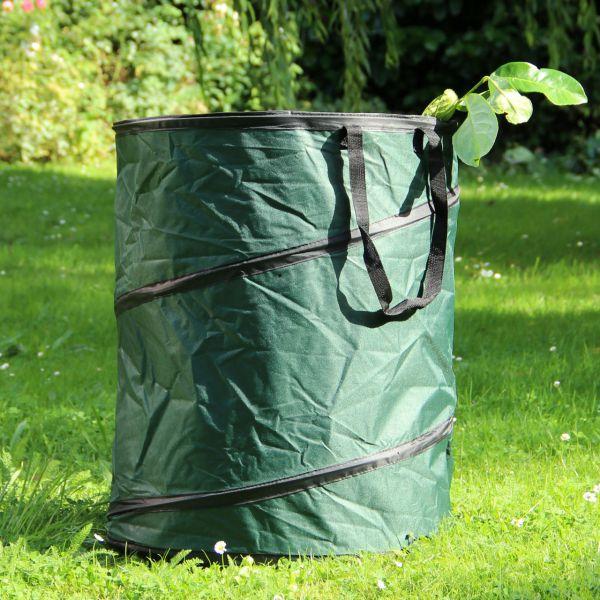 Gartensack PopUp, stabile Auführung, grün