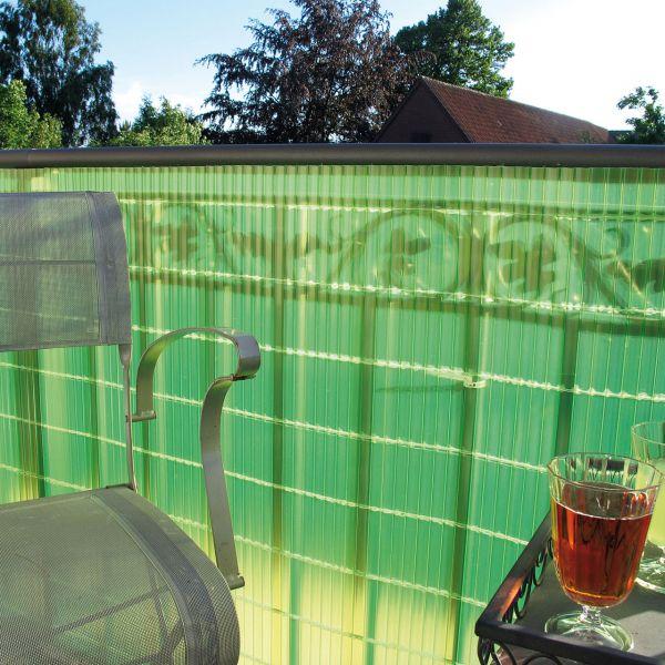 Sichtschutzmatte Kunststoff, Sunline limonengrün