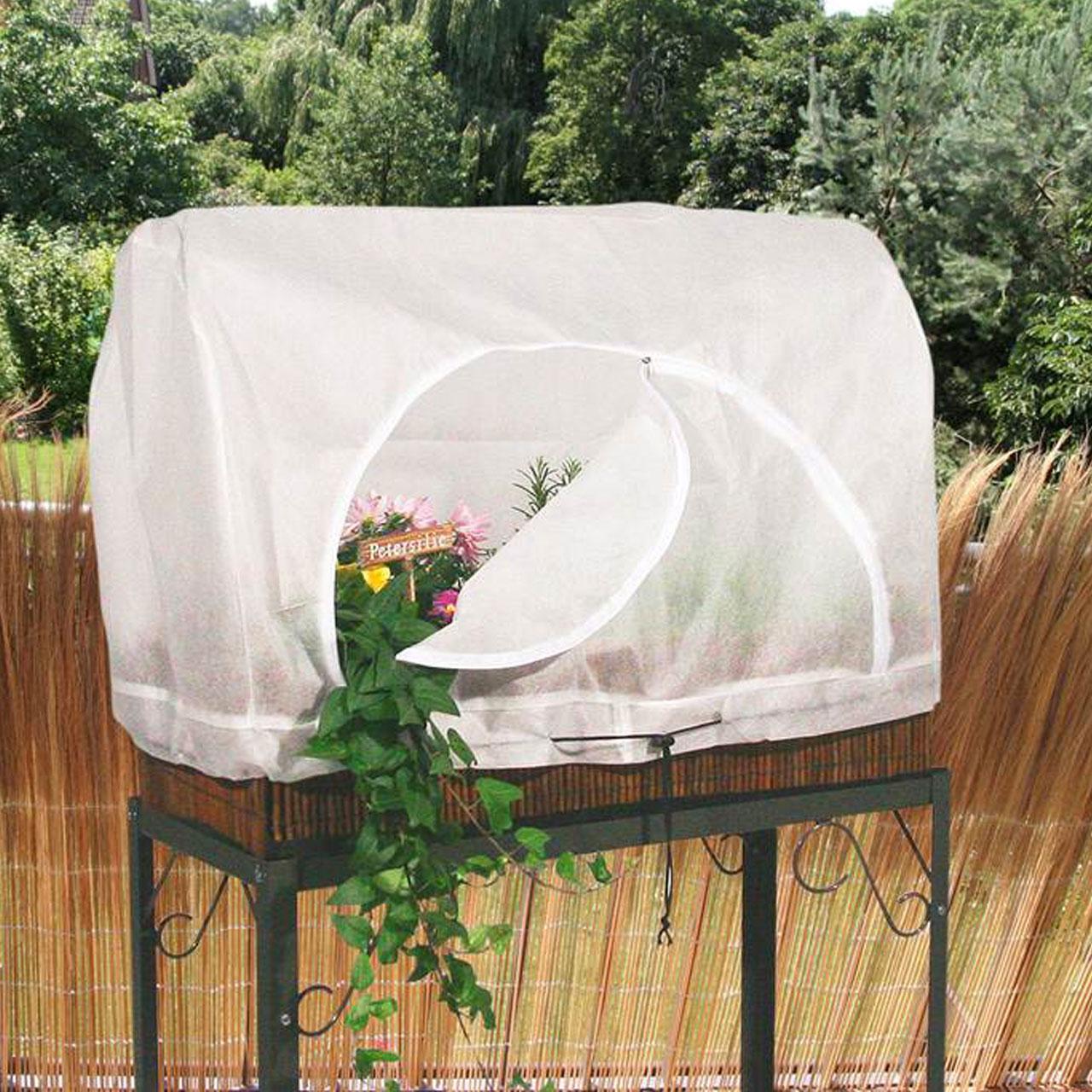 Garten Videx Balkon Sichtschutzfacher Weide Gartendeko Garten