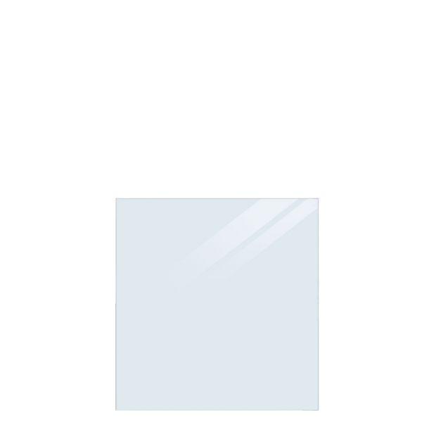 Rahmenloses Sicherheitsglas-Element, Sichtschutzsystem Cubic