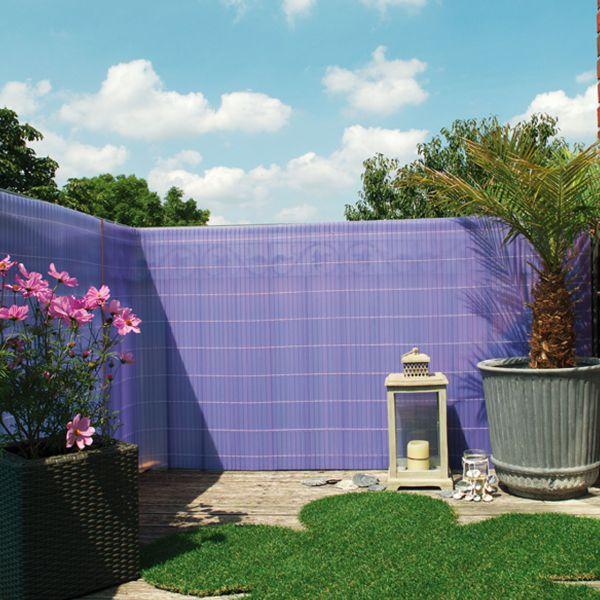 sichtschutzmatte kunststoff sunline flieder. Black Bedroom Furniture Sets. Home Design Ideas