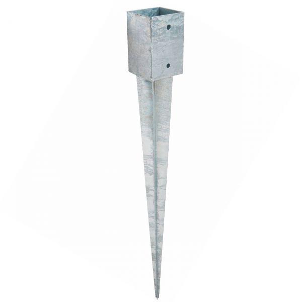 Einschlagbodenhülse 71 x 71 mm, L: 75 cm