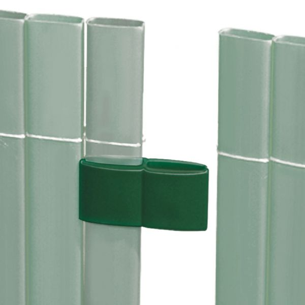 Mattenverbinder für Sichtschutzmatte Rügen, grün