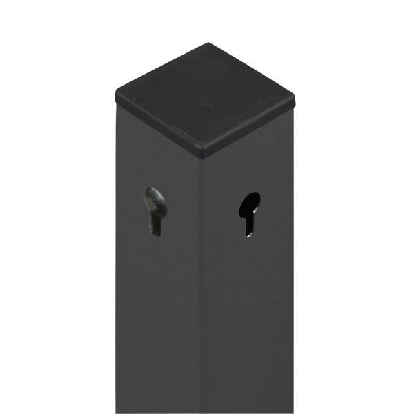 Aluminium-Pfosten 6x6cm, Malmö/Öland, grau