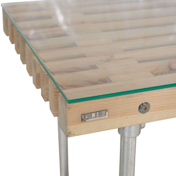 Glasplatte für Tische SIESTA