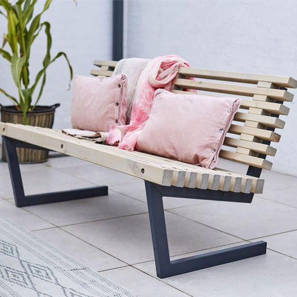 Sofa Outdoorlounge SIESTA, 138 cm
