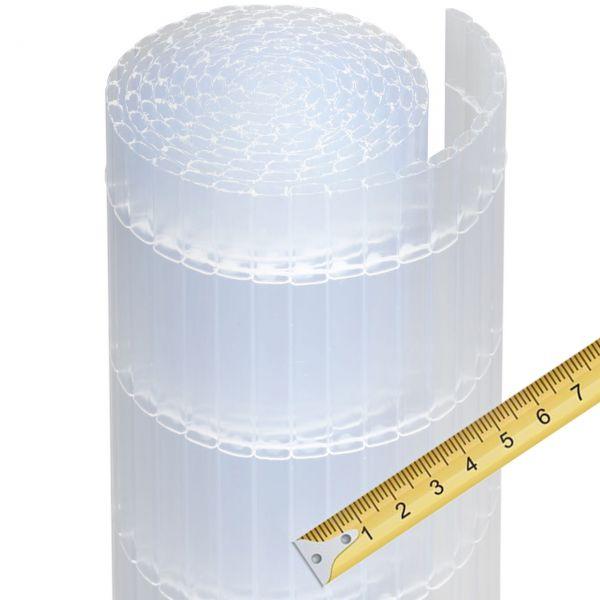 Sichtschutzmatte Kunststoff Meterware, Sunline satiniert