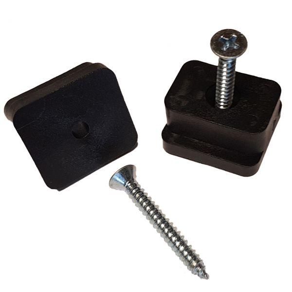 Distanzstück-Set für einzelne Steckzaun Solid Füllungen
