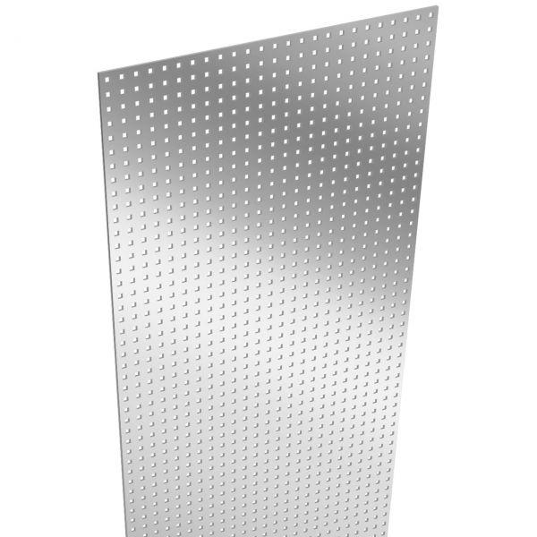 BPC Sichtschutzzaun SOLID Stecksystem, Designeinsatz Lochblech