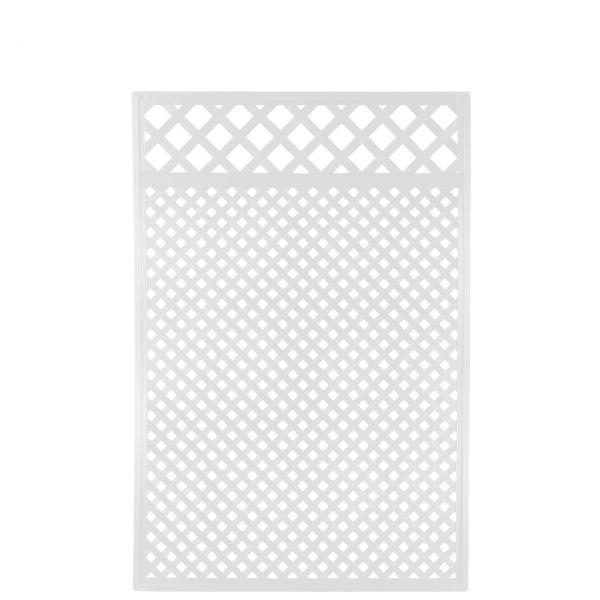Sichtschutzwand Kunststoff Coventry, Diamant Zierleiste