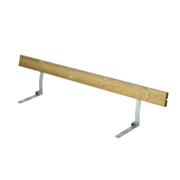 Lehne ALPHA für Picknicktisch mit Bänken, 6 Plätze