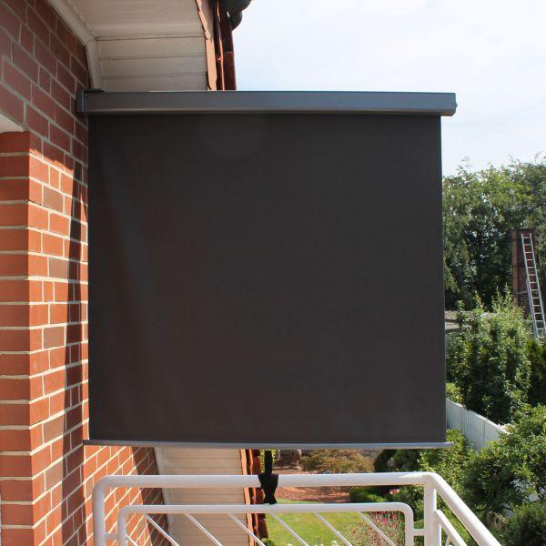 Balkon-Seitenmarkise, Länge 200cm, Breite 150cm