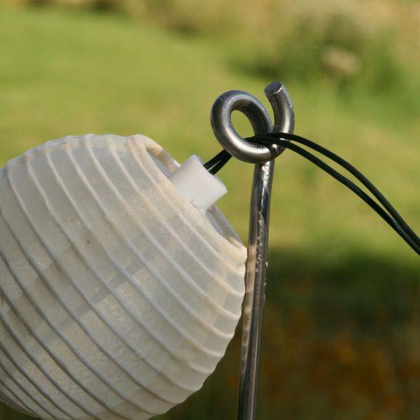 Lichterketten-Halterung, verzinkt, 120cm