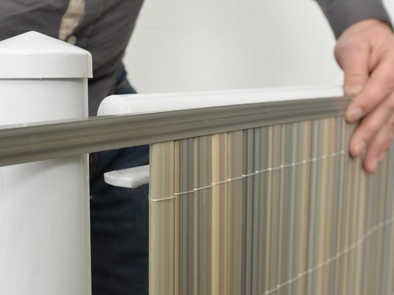 Balkonverkleidung Videx Sichtschutzmatten Pvc Rugen