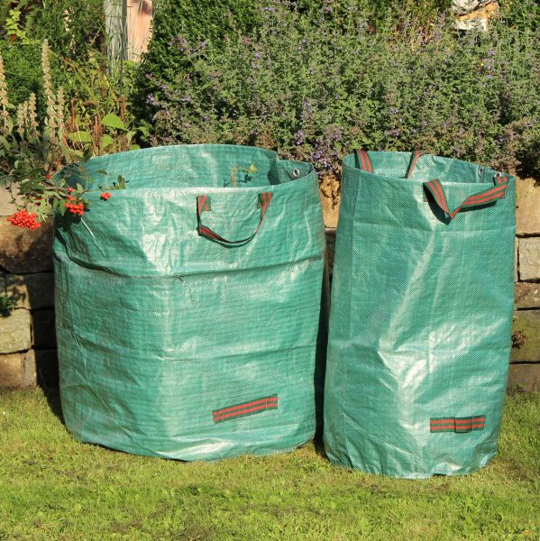 Gartensack STRONG, Springöffnung, grün