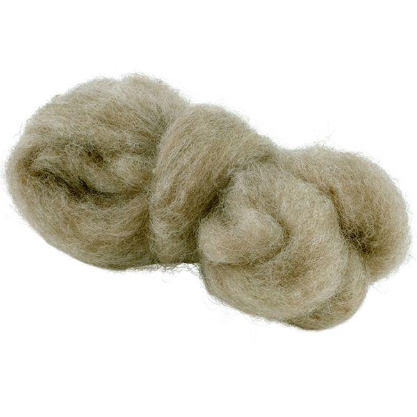 Woll-Lunte, Ø 3,5 cm, beige