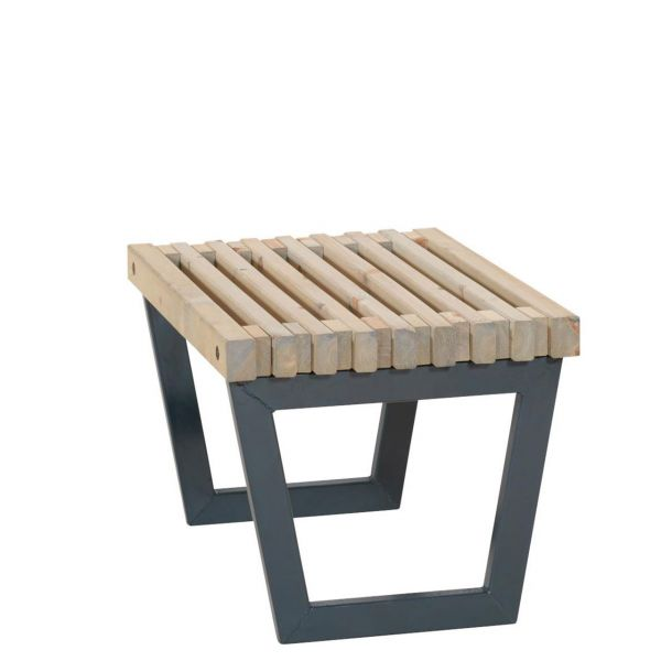Hocker / kleiner Tisch Outdoorlounge SIESTA, 80 cm
