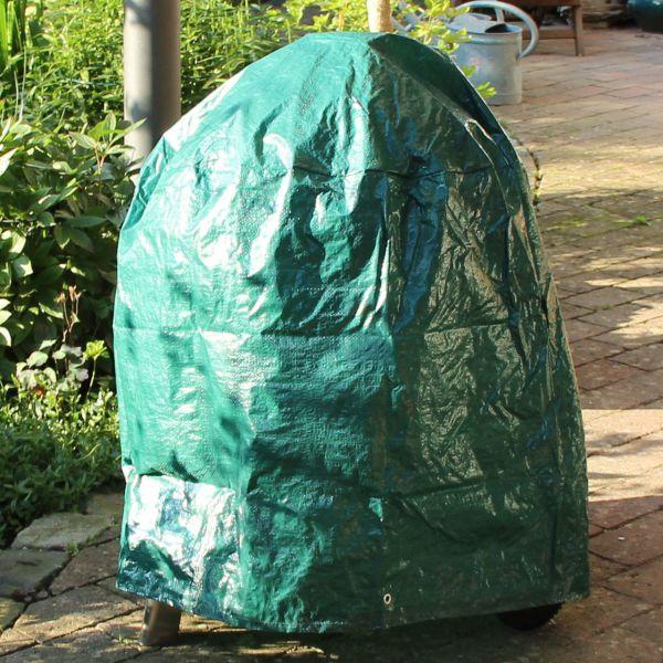 Schutzhaube PE für Gartengrill, grün