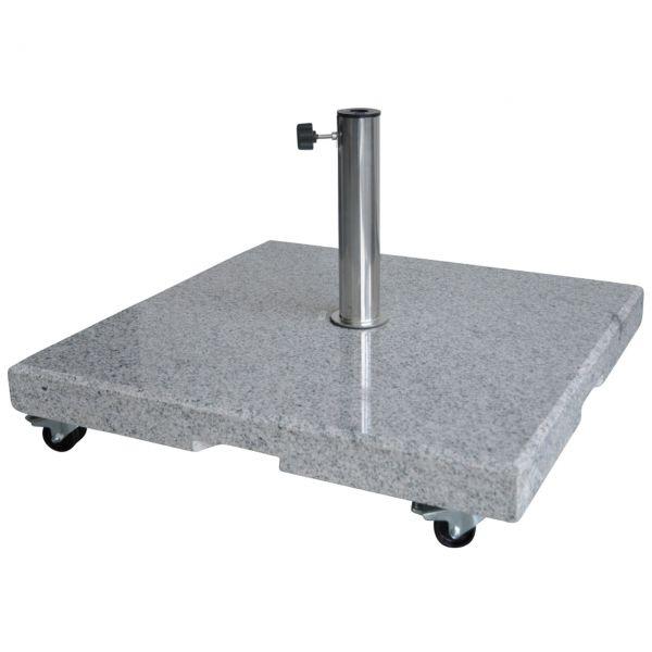 Granitständer 40kg eckig, rollbar