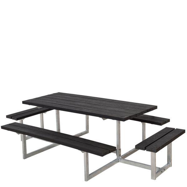 Picknicktisch mit Bänken BASIC & Anbau-Sitzen