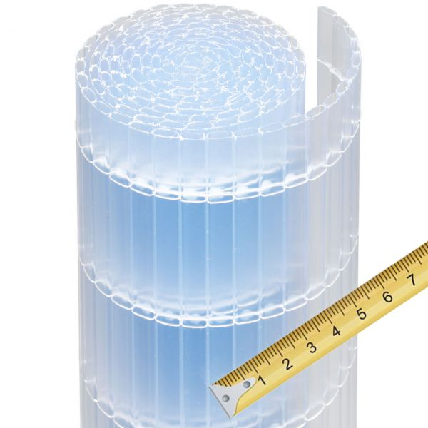Sichtschutzmatte Kunststoff Meterware, Sunline transparent