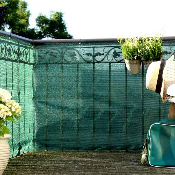 Balkonbespannung PE, Classic grün