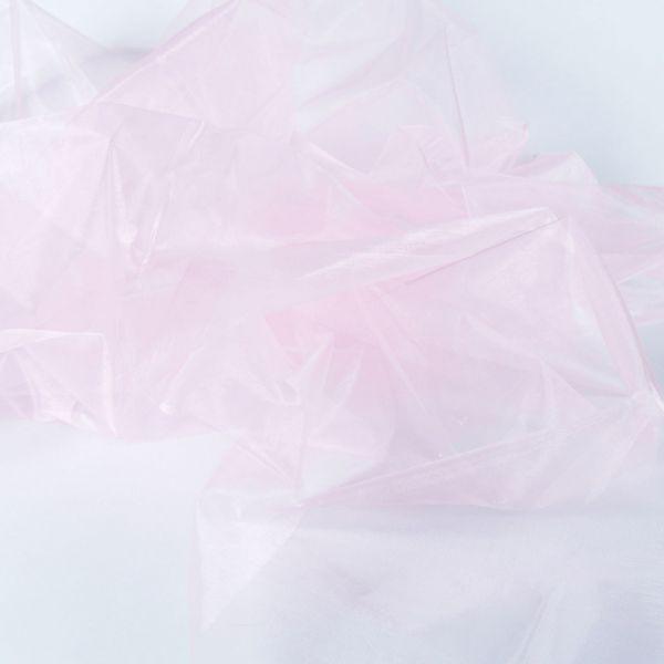 Dekostoff Organza, rosa