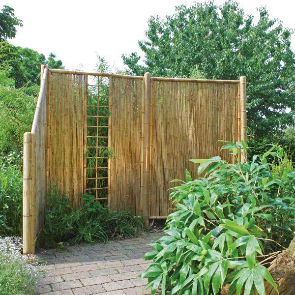 Sichtschutzwand Bambus, ZEN Spalier