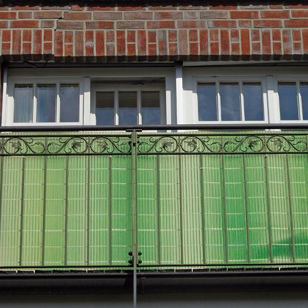 Sichtschutzmatte Kunststoff Montageset, Sunline limonengrün