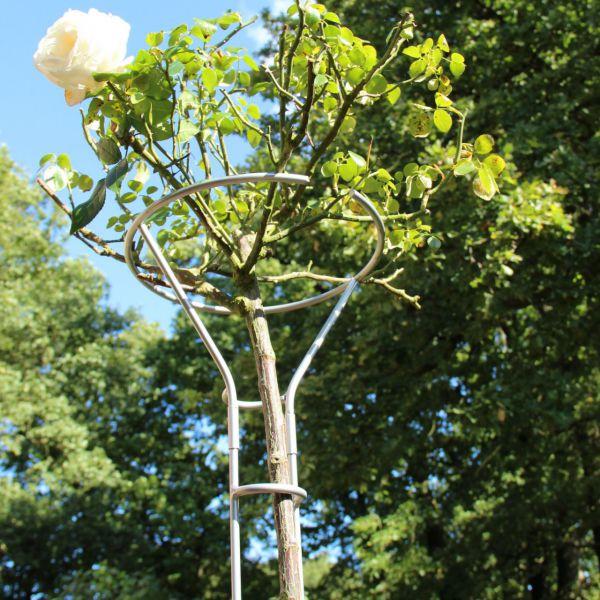 Rosenständer Mainau, silber