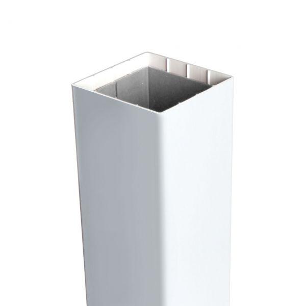 Pfosten ClassicLine 8,7 x 8,7 cm, weiß