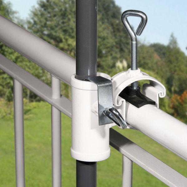 Sonnenschirmhalter Videx® Balkon Handlauf, H II