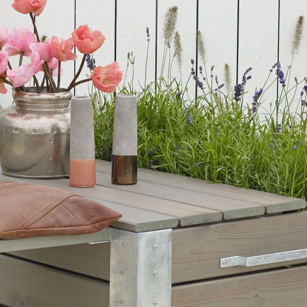 Deckel für Blumenkasten Cubic